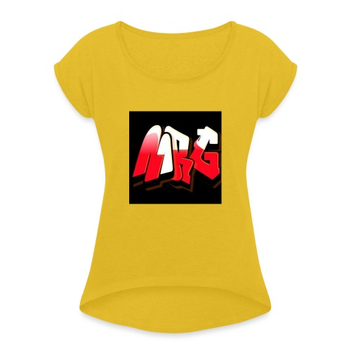 MiniRageGamer Official Merchandise - Women's T-Shirt with rolled up sleeves