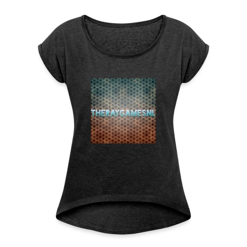 TheRayGames Merch - Women's T-Shirt with rolled up sleeves