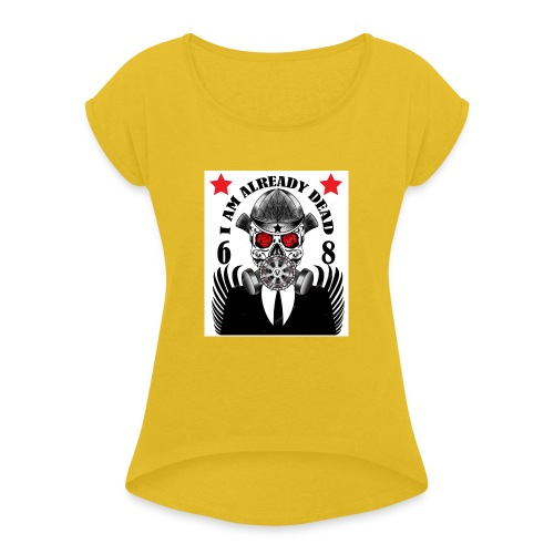 Product's of BastekShopLTD - Women's T-Shirt with rolled up sleeves