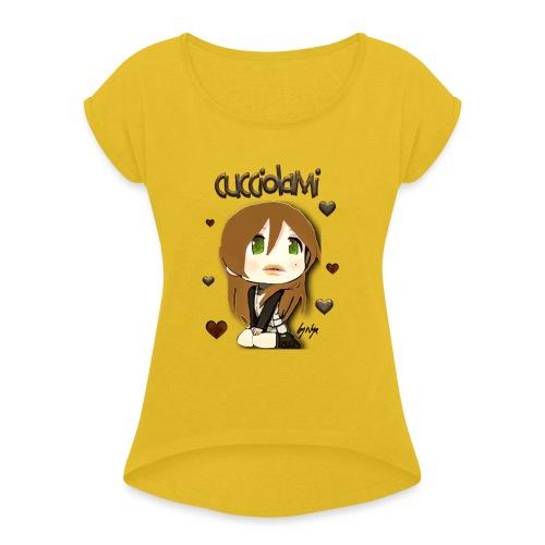 CUCCIOLAMI - Maglietta da donna con risvolti