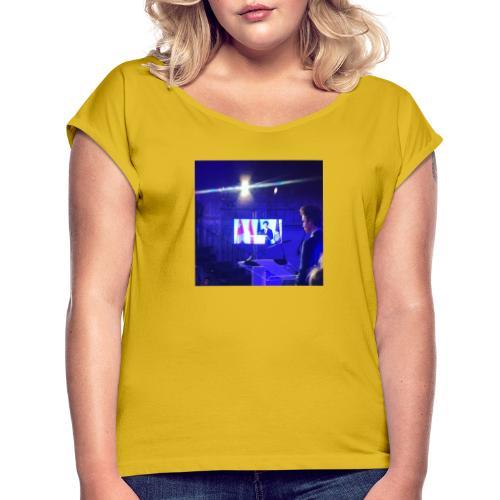 IMG 20200403 140735 - Camiseta con manga enrollada mujer