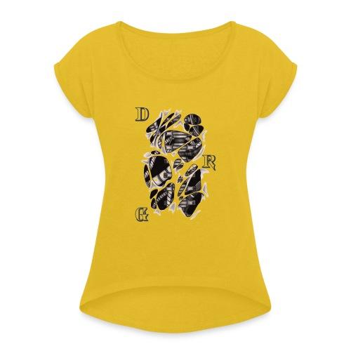 DRAGSTER WEAR - Maglietta da donna con risvolti