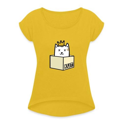 Kut Kingsday 2018 - Vrouwen T-shirt met opgerolde mouwen