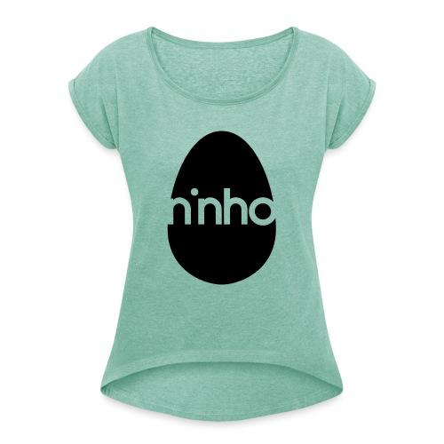 Ninho - Maglietta da donna con risvolti