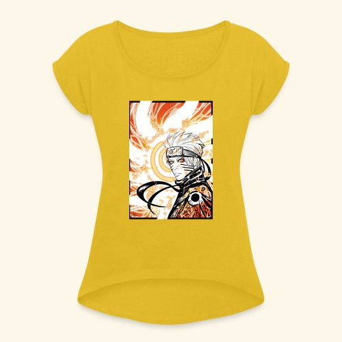Manga - Women's T-Shirt with rolled up sleeves