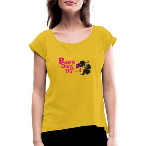 974 pur esex 02 - T-shirt à manches retroussées Femme