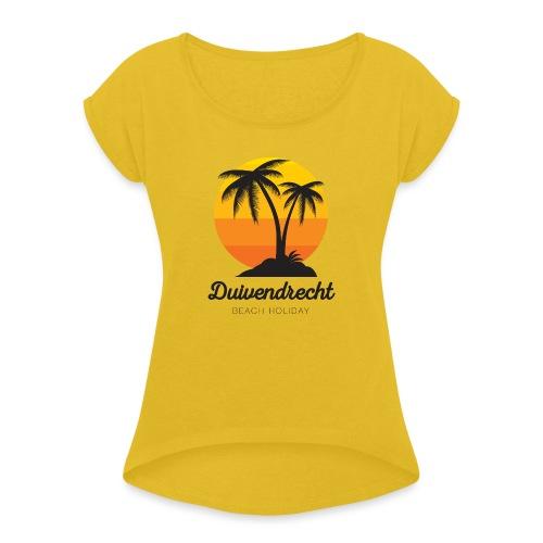 Duivendrecht - Vrouwen T-shirt met opgerolde mouwen