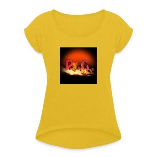 Spilla PanicGamers - Maglietta da donna con risvolti