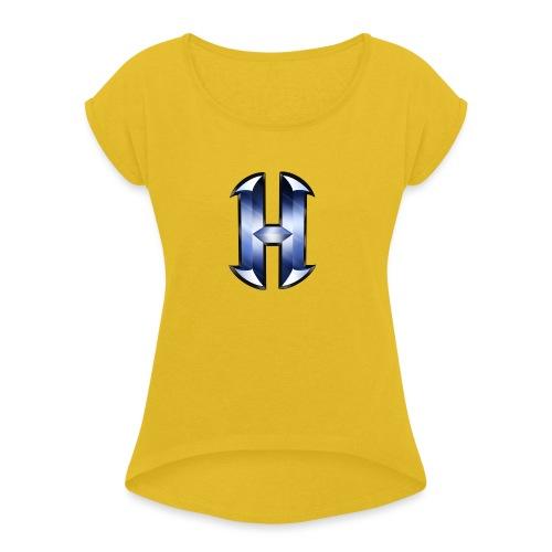 HideoutMC | Taza - Camiseta con manga enrollada mujer