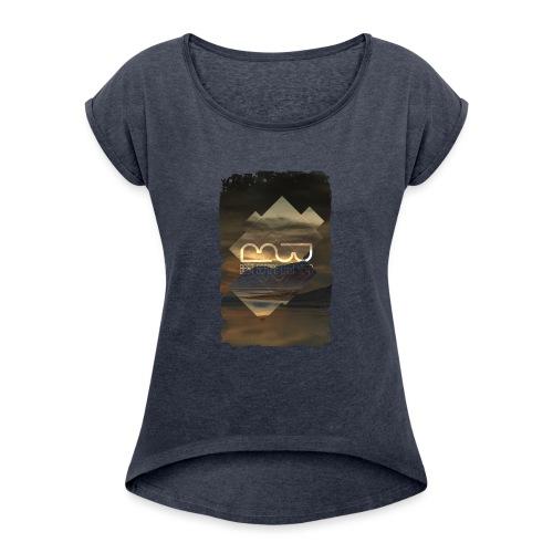 Men's shirt Album Art - Women's T-Shirt with rolled up sleeves