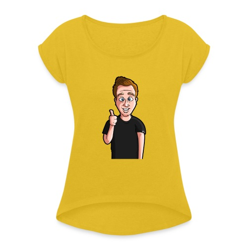 Jamboo Avatar - Women's T-Shirt with rolled up sleeves