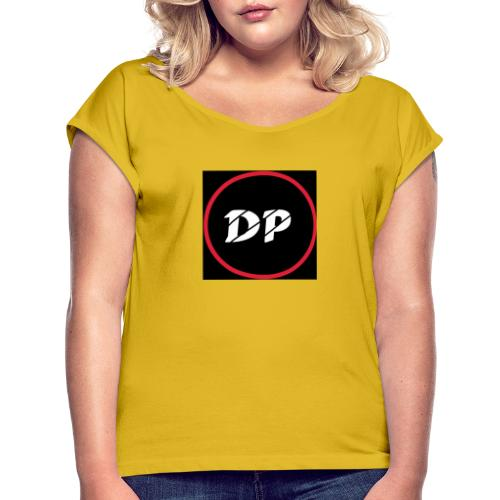 33686FA6 D187 4FD8 A444 EA7EE81AA048 - Vrouwen T-shirt met opgerolde mouwen