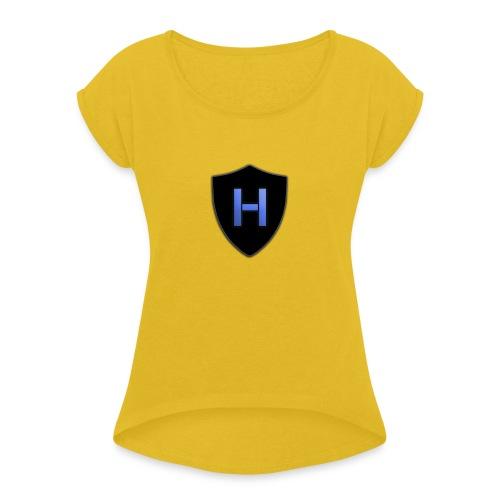 The Shield Capucha - Camiseta con manga enrollada mujer