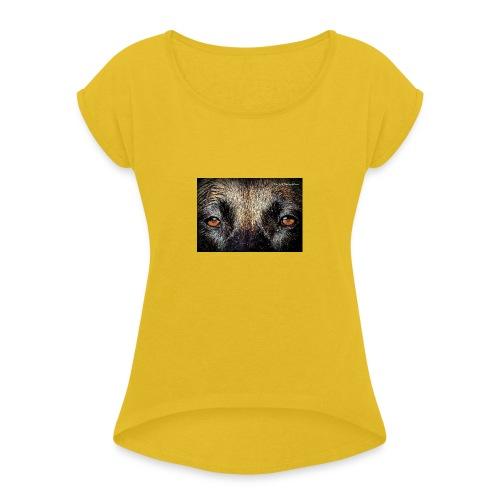 27336570 1565206093555634 4985213698271764510 n - Frauen T-Shirt mit gerollten Ärmeln