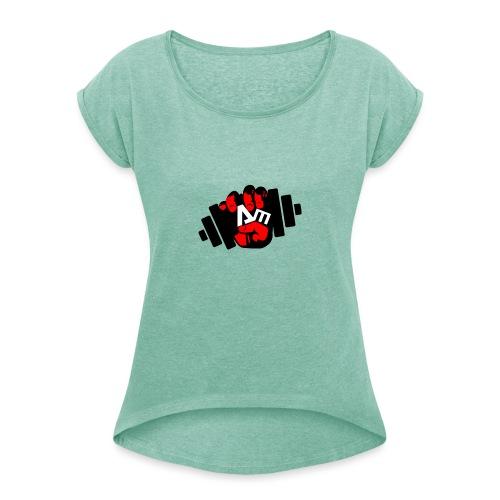 ANTONIO MESSINA ANTOFIT93 - Maglietta da donna con risvolti