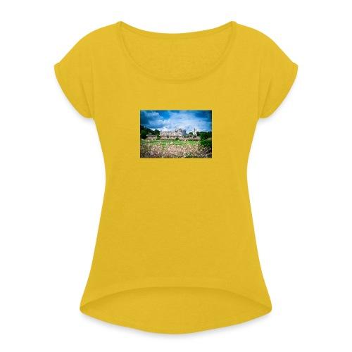 Barbara Mapelli - Castello di Chenonceau, Francia - Maglietta da donna con risvolti