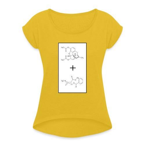 Speedball - Maglietta da donna con risvolti