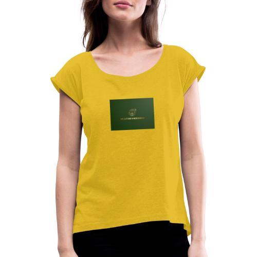 NM Clothing & Merchandise - Dame T-shirt med rulleærmer