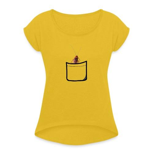 POCKET CUCARACHA - Maglietta da donna con risvolti