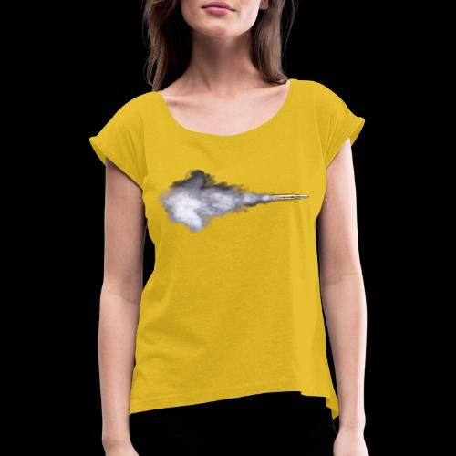 Spectrum [IMPACT COLLECTION] - Women's T-Shirt with rolled up sleeves