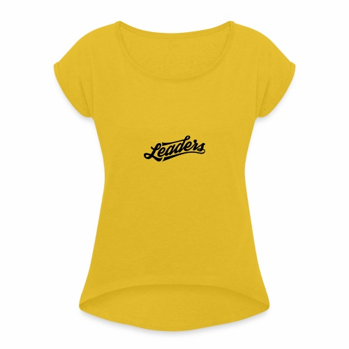 leaders 01 1 - T-shirt à manches retroussées Femme