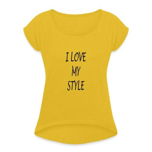 3 - Maglietta da donna con risvolti