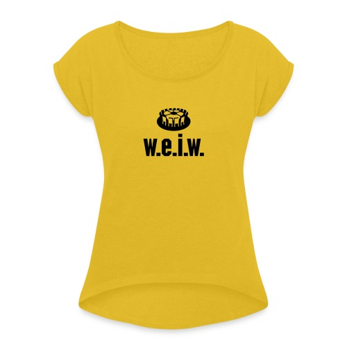 Titeltraum - Frauen T-Shirt mit gerollten Ärmeln