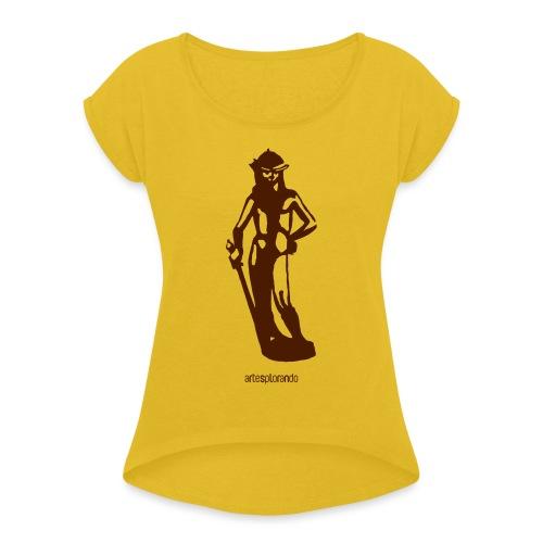 Donatello, David - Maglietta da donna con risvolti