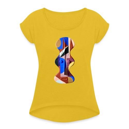 Krista Rosenkilde - Dame T-shirt med rulleærmer