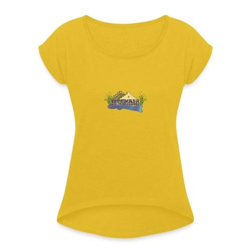 Openair am Greifensee Retro - Frauen T-Shirt mit gerollten Ärmeln