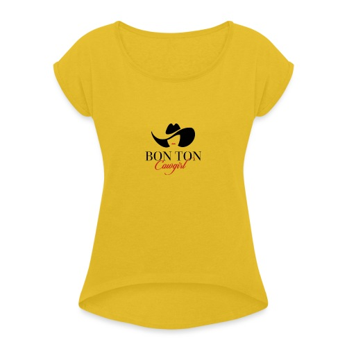 BonTon Best Sellers - Maglietta da donna con risvolti