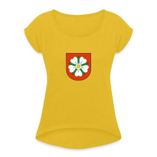 Koszulka Fordon - Koszulka damska z lekko podwiniętymi rękawami