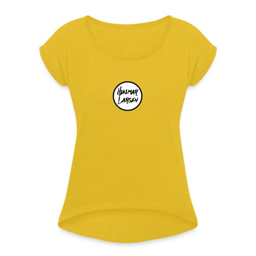 Hjalmar Larsen - Dame T-shirt med rulleærmer