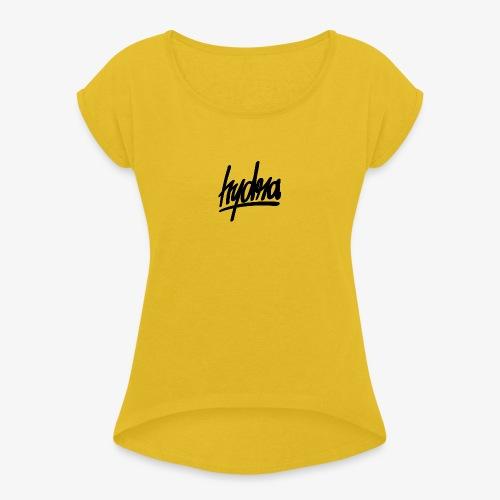 Hydra - T-shirt à manches retroussées Femme