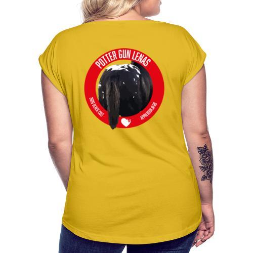 POTTER GUN LENAS - Maglietta da donna con risvolti