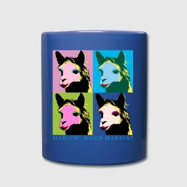 Marilyn Lama Warhol C - Tasse einfarbig