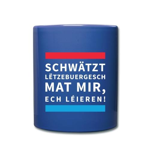 Schwätzt Lëtzebuergesch W - Full Colour Mug