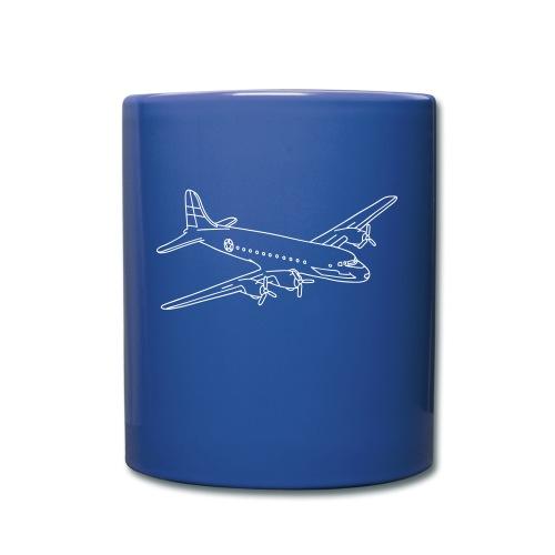 Flugzeug - Tasse einfarbig