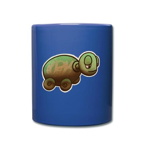 Vintage Spielzeug Holz Schildkröte / Wooden Turtle - Tasse einfarbig