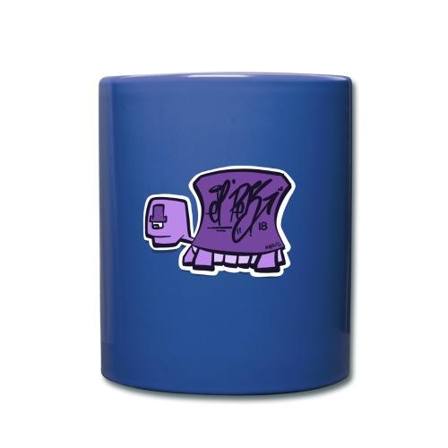 Tag turtle / Schildkröte Logo - Tasse einfarbig