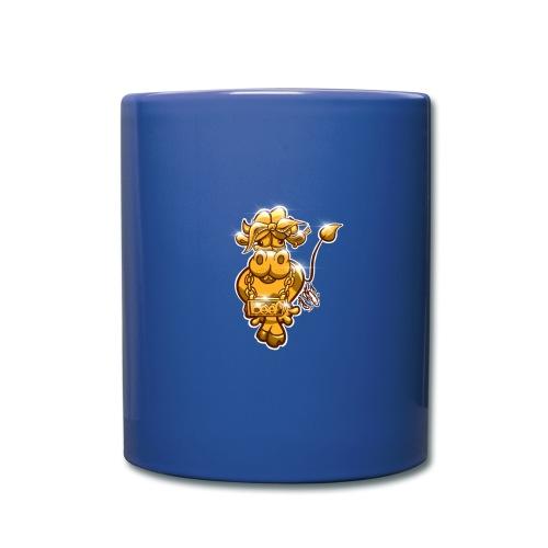 Goldene Gangster Kuh / Gold Thug Cow - Tasse einfarbig
