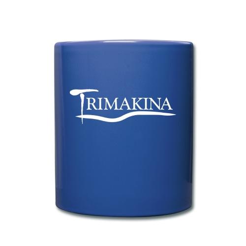 Texto TriMakina BLANCO editado 1 - Taza de un color