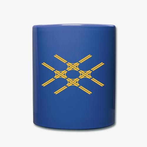Autobahnkreuze Quartett - Tasse einfarbig