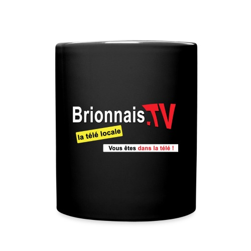 BTV logo shirt dos - Mug uni