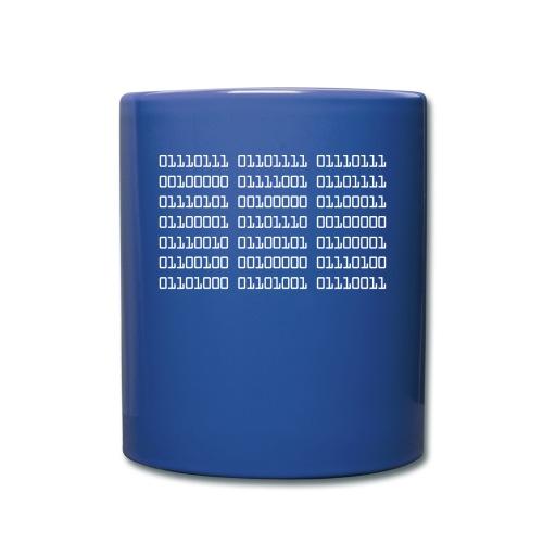 Wow Binary - Full Colour Mug