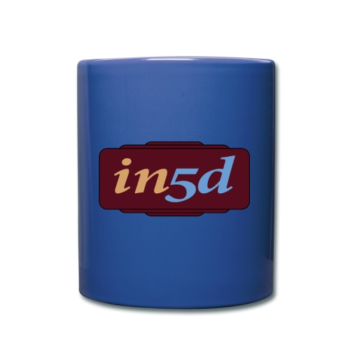 In5d - Ensfarvet krus