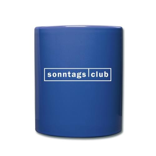 sc-logo_transparent - Tasse einfarbig