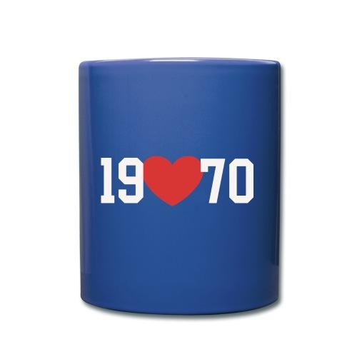 19 heart 70 - Tasse einfarbig