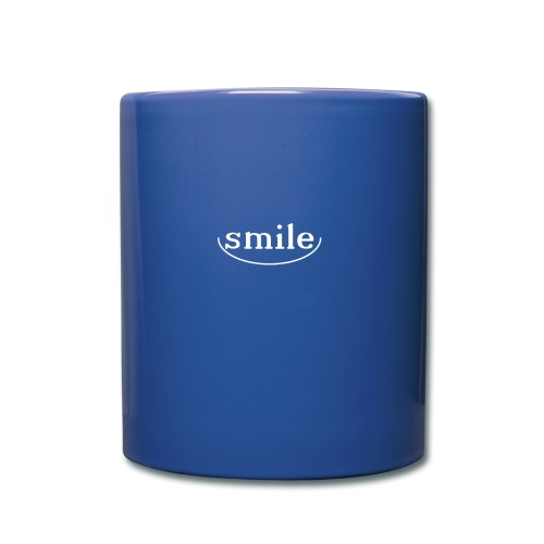 Just smile! - Full Colour Mug
