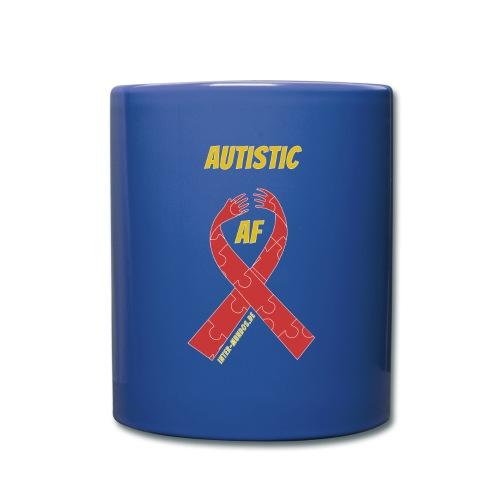 Autistic as F*** - Tasse einfarbig
